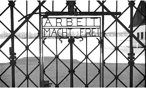 "What to do in Munich Dachau Concentation Camp ""Arbeit macht frei"" Gate"